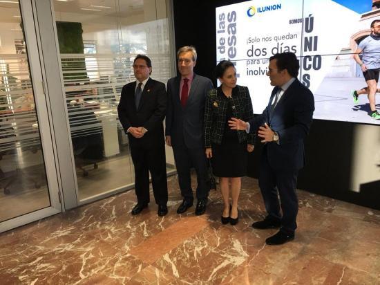 Rocío González inaugura el Centro Cultural de Ecuador en España