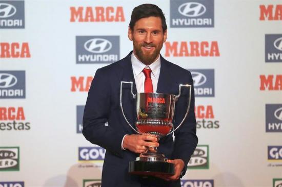 Messi: 'Mi objetivo no son lo premios individuales, sino lograr títulos'