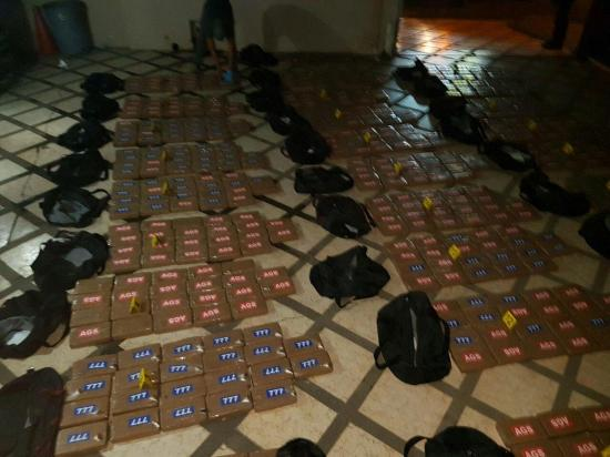 Decomisan 600 kilos de cocaína en una vivienda de Jaramijó