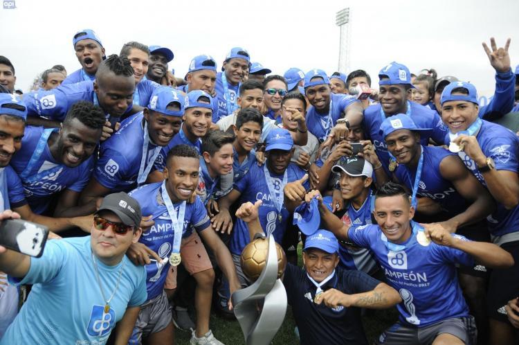 Emelec se coronó campeón 2017 en el estadio Jocay