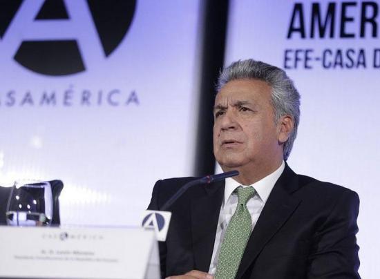 Lenín Moreno admite que admiró a Correa, pero rechaza reelección indefinida
