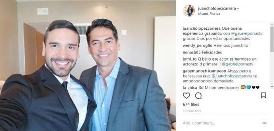 El ecuatoriano 'Juancho' López aparecerá en producción de Telemundo