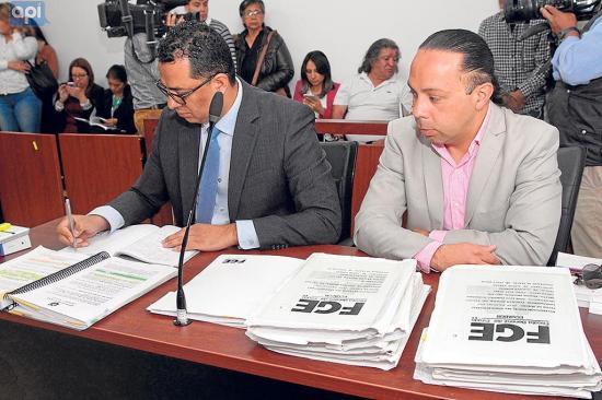 Realizan la audiencia preparatoria de juicio contra el perito José F.