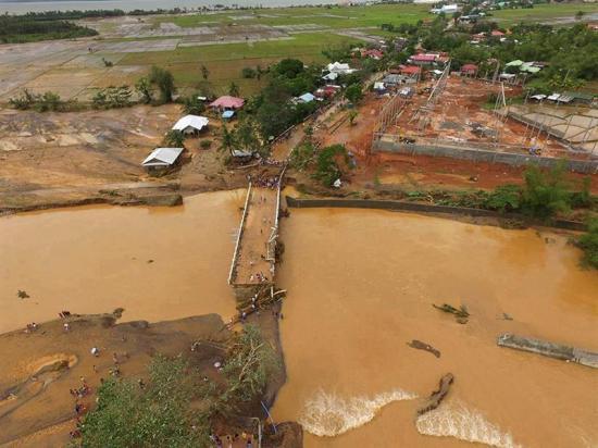 La tormenta Kai-Tak deja en Filipina 41 muertos y un millón de afectados
