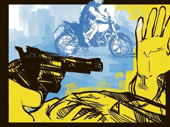 Con un disparo le 'pagaron' la gasolina de una motocicleta