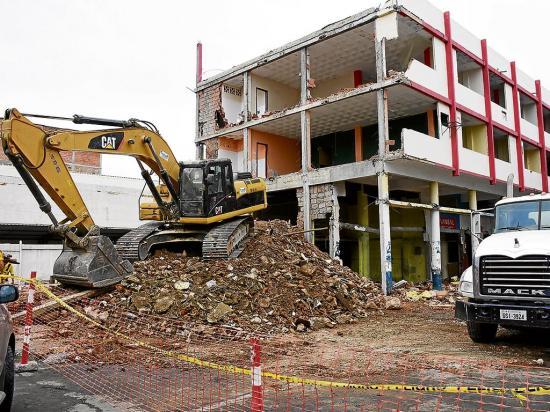 Bomberos se quedan sin su ícono en el centro de Portoviejo