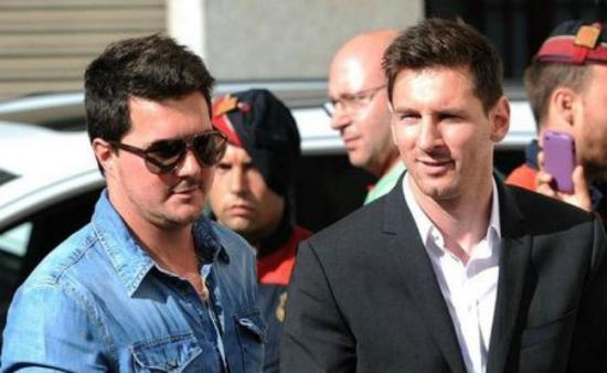 Hermano de Messi es liberado tras pagar millonaria fianza en Argentina