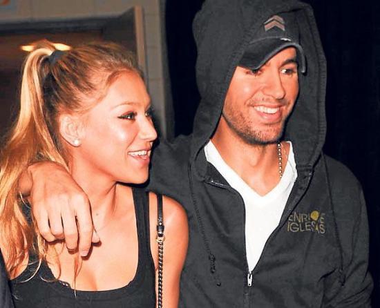 Enrique Iglesias y Anna Kournikova son padres de Nicholas y Lucy