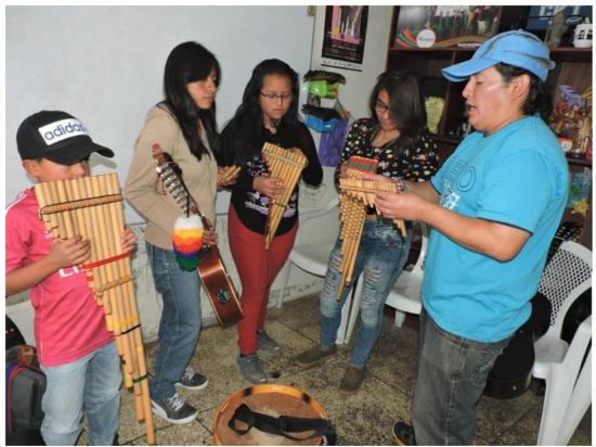 Fomenta la música tradicional