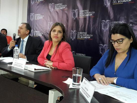 Vicuña dice que Moreno valorará el reemplazo del vicepresidente Glas