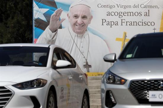 El papa Francisco usará en Chile por primera vez un automóvil híbrido