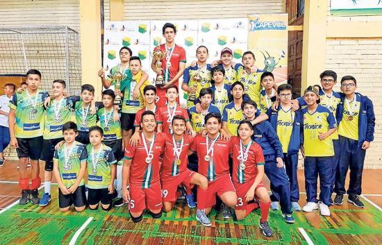 Manabí, campeón de Voleibol de Sala