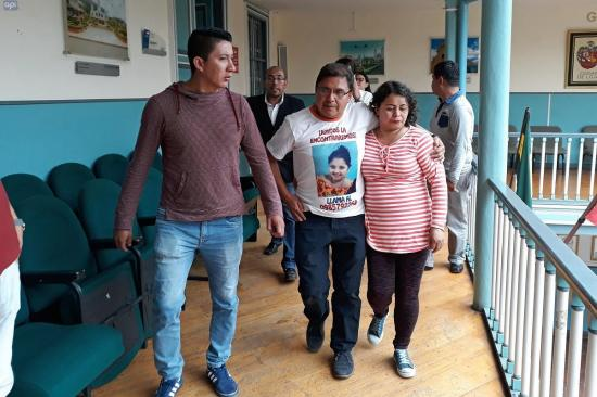 La Fiscalía involucra a dos hombres y una mujer en el crimen de Emilia Benavides