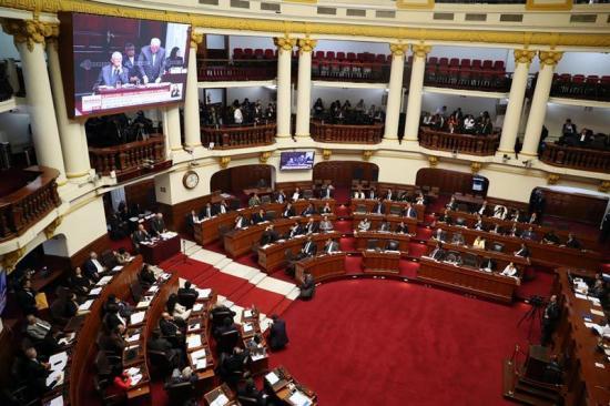 Congreso comienza debate sobre pedido de destitución del presidente de Perú
