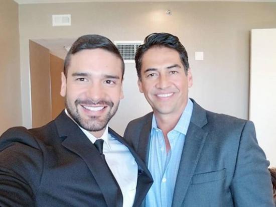 Juancho López revela rodaje de escenas con  el actor Gabriel Porras