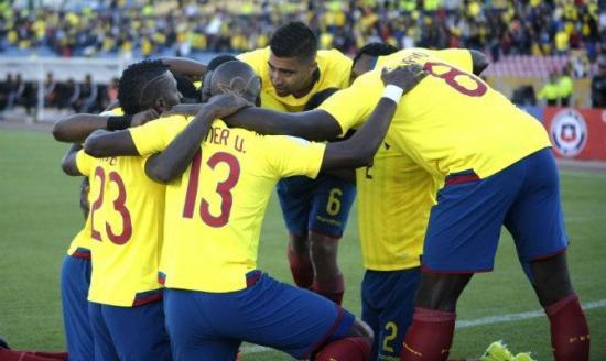 Ecuador ocupa el puesto 70 el Ranking FIFA