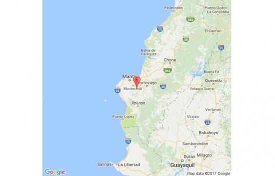 Un sismo de 4,7 grados se registró esta madrugada en Manabí