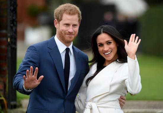 Publican las fotos oficiales del compromiso del príncipe Enrique y Meghan Markle