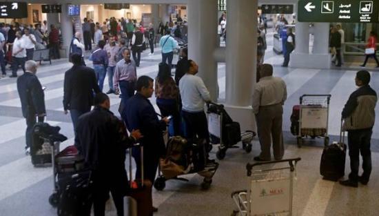 Detenida una mujer de 80 años en aeropuerto de Beirut con 30 kilos de cocaína