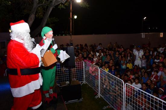 3.900 focos tiene el Árbol navideño de Ediasa