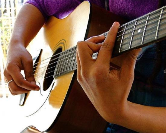 Se llevan una guitarra de un laboratorio