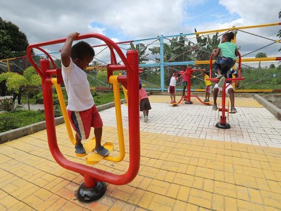 Con casas lúdicas evitan el reclutamiento infantil
