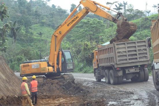 Obra de asfaltado va por buen camino