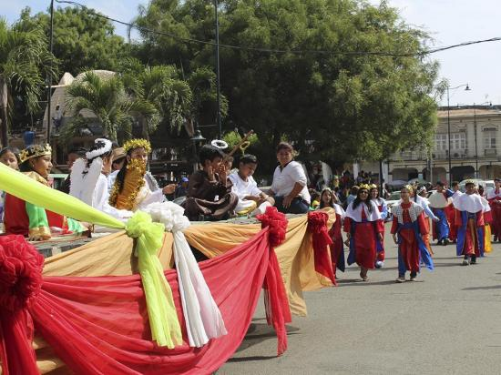 """Pase del Niño"" se celebró con un pregón  religioso en Jipijapa"