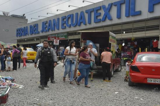 Feria de Pelileo sí abrió sus puertas