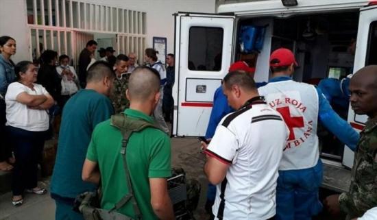 Al menos 58 soldados resultaron afectados por un rayo en suroeste de Colombia