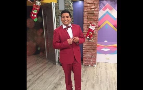 El presentador de televisión Henry Bustamente celebrará la Navidad en familia