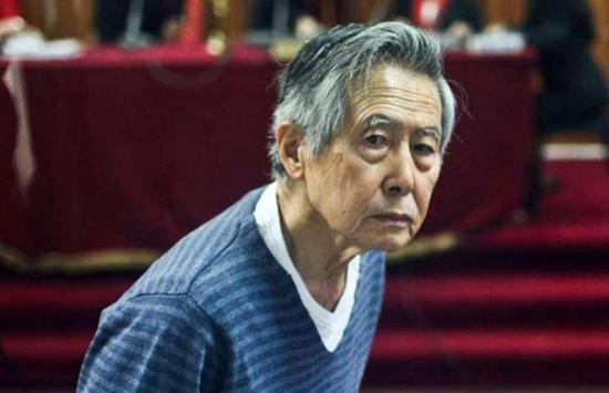 Fujimori permanece en cuidados intensivos en una clínica de Lima