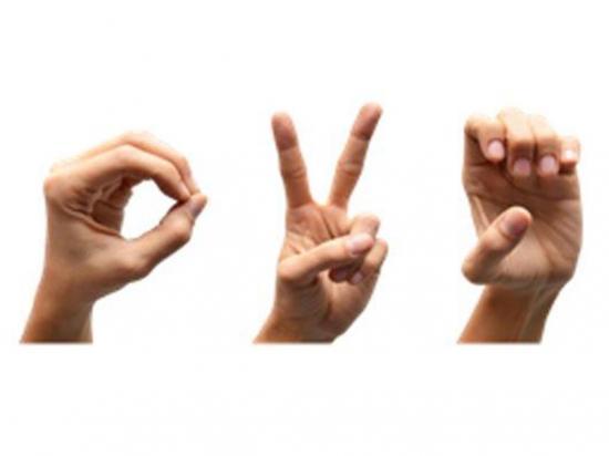 Crea un guante que traduce el lenguaje de señas