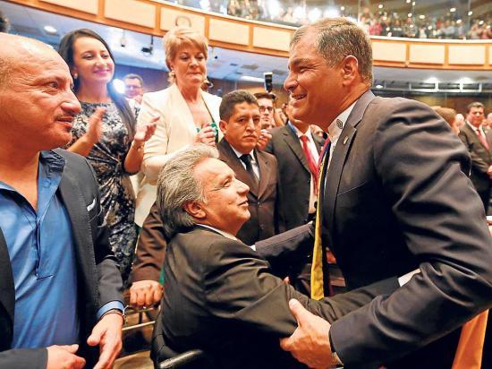 En medio año se rompió la alianza de Correa y Moreno