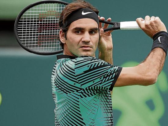 Federer tiene fecha de debut