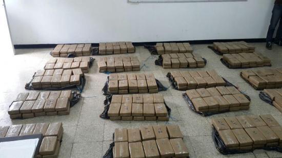 489 presos por tráfico de drogas