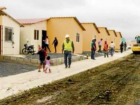 El Gobierno pretende construir 325 mil casas en un período de 3 años