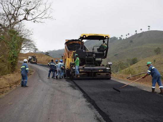 GPM construye 7 vías rurales en la zona norte