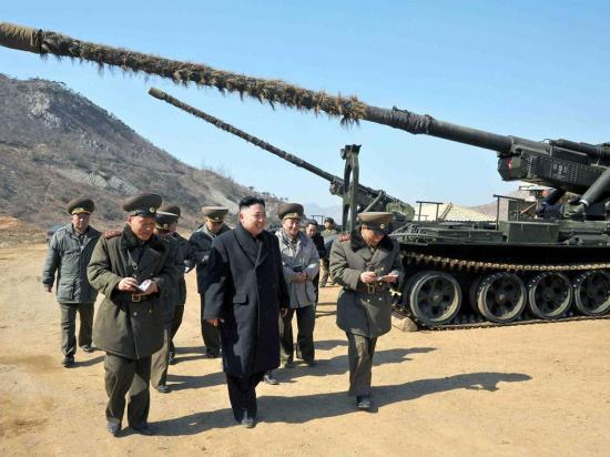 La tensión aumenta entre Estados Unidos y Corea del Norte