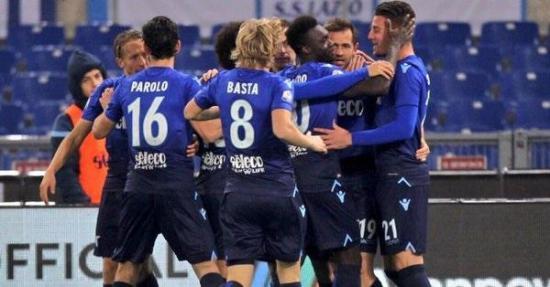El Lazio, de Felipe Caicedo, es el primer semifinalista de la Copa Italia
