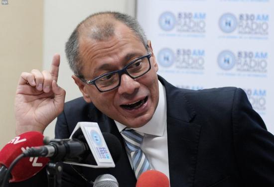 Contraloría confirma destitución del Vicepresidente Jorge Glas