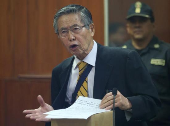 Fujimori pide perdón y agradece indulto otorgado por Kuczynski