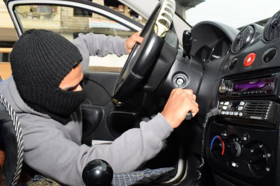 Robo de carros, un delito común