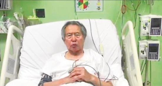 Fujimori pide perdón y agradece a Kuczynski