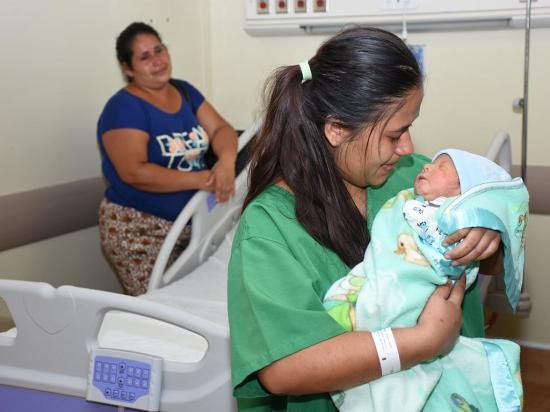 16 bebés navideños nacieron en el 'Verdi'