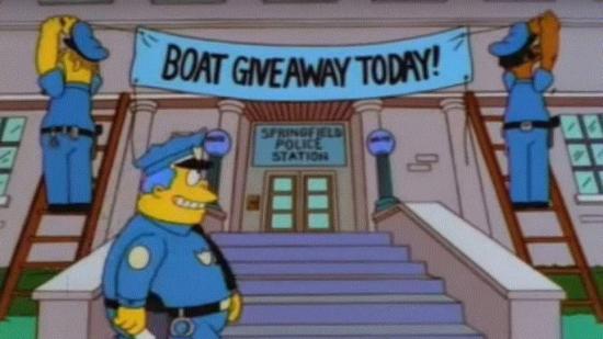 Policía de Reino Unido atrapa a 21 delincuentes con un método usado en 'Los Simpson'