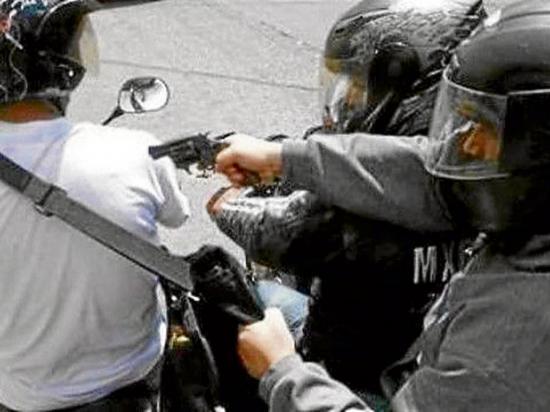 Motociclista es asaltado en el sitio Los Amarillos