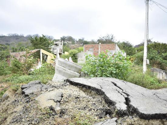 Resultados de los deslizamientos en la Briones listos en enero