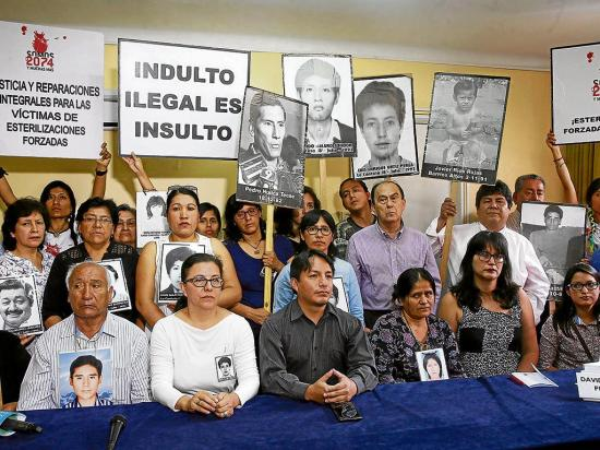 Solicitan anular el indulto a Fujimori