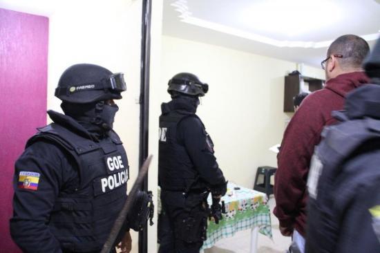 Desarticulan una banda delictiva que era liderada por un recluso